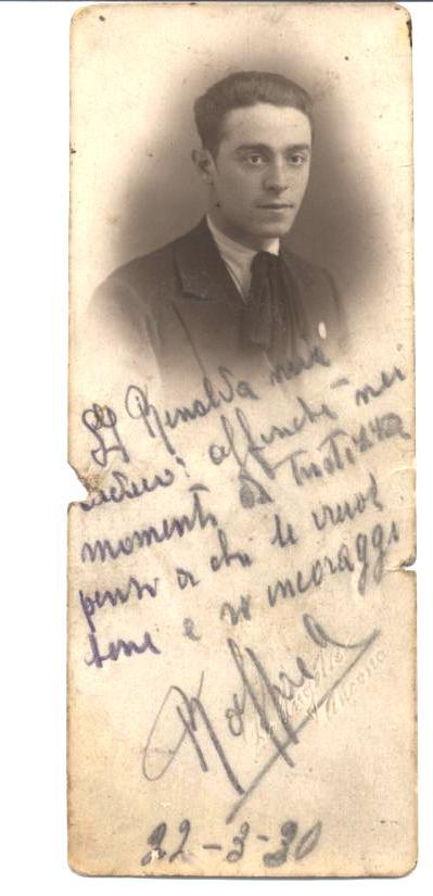 1930 - 22 marzo Maderloni Raffaele a Rinalda